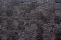 Struttura geometrica astratta della parete Fotografia Stock Libera da Diritti