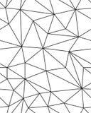 Struttura geometrica della maglia Immagine Stock