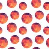 Struttura geometrica di forme Fotografia Stock