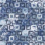 Struttura geometrica di lerciume di vettore con pittura Immagini Stock Libere da Diritti