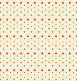 Struttura geometrica senza cuciture con il rombo, Backgr periodico d'annata illustrazione di stock