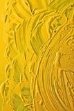 Struttura gialla dell'inchiostro Immagini Stock Libere da Diritti