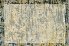 Struttura giallo-blu verticale con un posto per un'iscrizione Fotografia Stock Libera da Diritti
