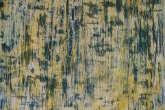 Struttura giallo-blu verticale fatta a mano Immagini Stock