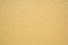 Struttura giallo-chiaro del cemento Fotografia Stock Libera da Diritti