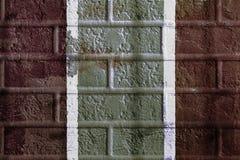 Struttura grafica di lerciume della parete Estratto immagini stock libere da diritti