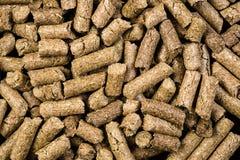 Struttura granulata del fondo dell'alimento animale Immagini Stock Libere da Diritti