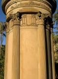 Struttura greco-romana della colonna Fotografia Stock Libera da Diritti
