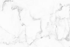 Struttura (grigia) bianca del marmo, struttura dettagliata di marmo in naturale modellato per fondo e progettazione Fotografia Stock Libera da Diritti