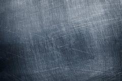 Struttura grigia del fondo, del ferro o dell'alluminio della lamina di metallo Immagini Stock Libere da Diritti