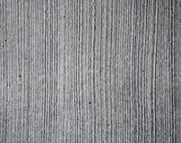 Struttura grigia del muro di cemento con le righe di rilievo Fotografia Stock
