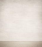 Struttura grigia del muro di mattoni con il passaggio pedonale Immagine Stock Libera da Diritti