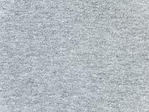Struttura grigia del tessuto della maglietta dell'erica Fotografia Stock Libera da Diritti