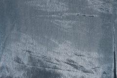 Struttura grigia luminosa del tessuto del taffettà Immagini Stock Libere da Diritti