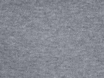 Struttura grigia media del tessuto di cotone immagine stock
