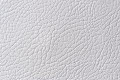Struttura grigio chiaro del cuoio sintetico Fotografie Stock Libere da Diritti