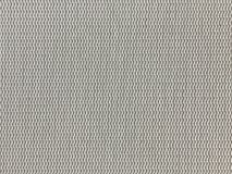 Struttura grigio chiaro del tessuto del PVC Fotografia Stock Libera da Diritti