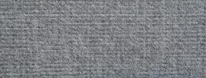 Struttura grigio chiaro del tessuto sintetico Fotografia Stock Libera da Diritti