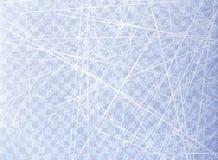 Struttura il ghiaccio blu Pista di pattinaggio sul ghiaccio Vista ambientale Superficie della natura Isolato su fondo trasparente Immagini Stock Libere da Diritti