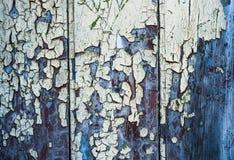 Struttura incrinata della pittura di lerciume Fotografie Stock