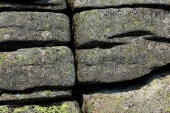 Struttura incrinata della roccia Fotografie Stock Libere da Diritti