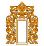 Struttura indonesiana etnica Royalty Illustrazione gratis