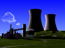 Struttura industriale Fotografia Stock