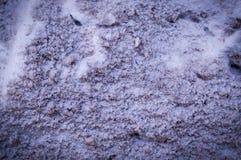 Struttura inquinante della neve con la scenetta urbano, fondo fotografie stock libere da diritti