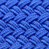 Struttura intrecciata blu Fotografia Stock
