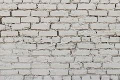 Struttura irregolare del muro di mattoni fuori di gray-1 immagine stock