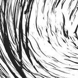 Struttura irritabile con le linee caotiche e casuali Illu geometrico astratto illustrazione di stock
