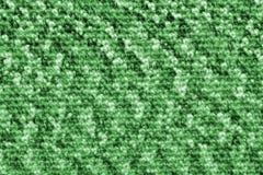Struttura lavorata a maglia verde Fotografie Stock Libere da Diritti