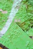 Struttura leggera del fondo della pittura di verde di lerciume Fotografia Stock Libera da Diritti