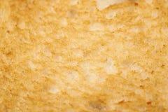 Struttura leggermente tostata del pane bianco Immagine Stock