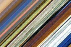 Struttura lineare del fondo di pendenza Fotografia Stock