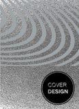 Struttura lucida d'argento Reticolo metallico Fondo di lerciume di argento Fotografia Stock Libera da Diritti