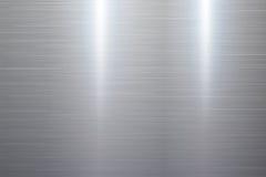 Struttura lucidata del metallo Fotografie Stock