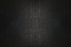 Struttura lussuosa di cuoio nera del fondo Immagini Stock