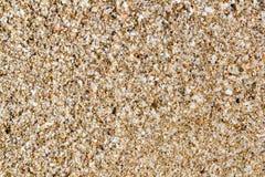 Struttura a macroistruzione del terreno della sabbia di Ibiza Fotografia Stock