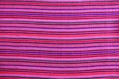 Struttura a macroistruzione dentellare vibrante del tessuto del serape messicano immagine stock libera da diritti