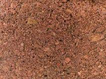 Struttura a macroistruzione - mattone rosso Fotografia Stock