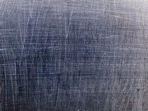 Struttura a macroistruzione - metallo - graffiata Fotografia Stock