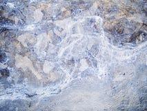 Struttura a macroistruzione - metallo - scolorita Immagine Stock