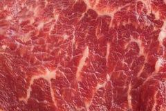 Struttura marmorizzata della carne Immagine Stock Libera da Diritti