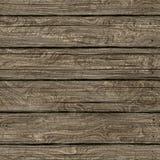 Struttura marrone di legno senza cuciture della plancia della parte Immagini Stock