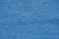 Struttura materiale d'annata del fondo delle blue jeans Fotografie Stock