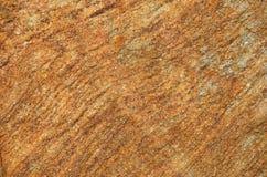 Struttura materiale di macro della foto del dettaglio della roccia dell'arenaria Immagine Stock Libera da Diritti