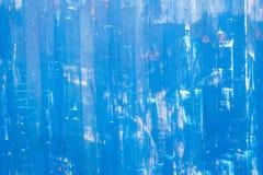 Struttura metallica blu graffiata Immagine Stock Libera da Diritti