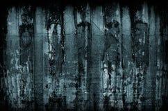 Struttura metallica blu scuro Fotografie Stock