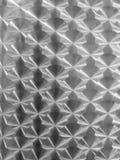 Struttura metallica brillante con le riflessioni circolari Fotografie Stock Libere da Diritti